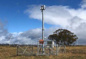 Identiflight System at Cattle Hill wind farm